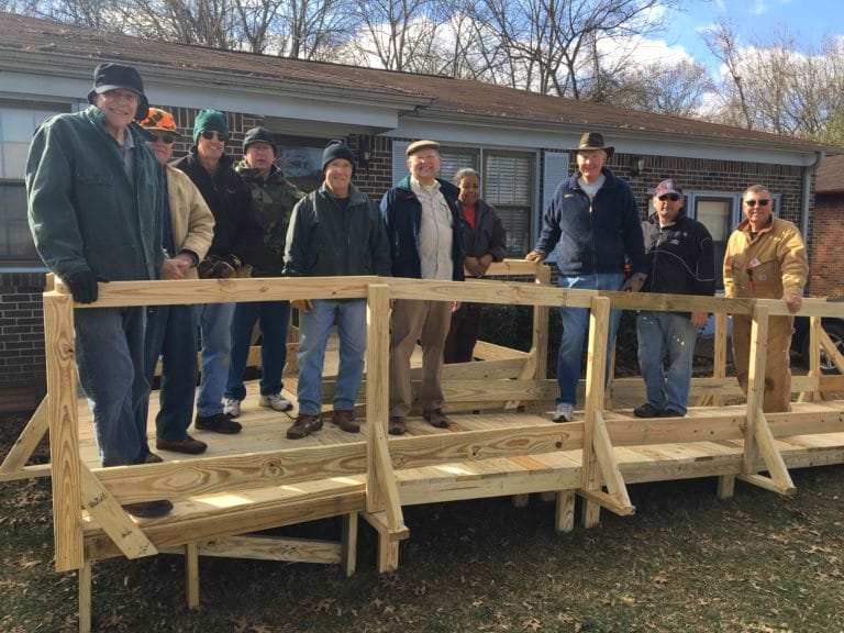 Build Wheelchair Ramps For Seniors Casa Of Madison County