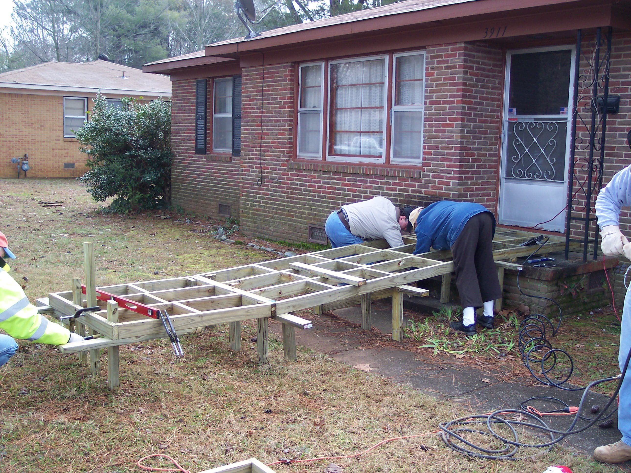 Build Wheelchair Ramps for Seniors
